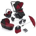 concord-conjunto de carrinho de passeio neo travel set pepper